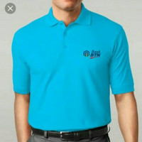 polo shirt/kaos kerah pria/Bank BTN