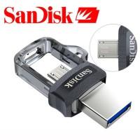 FLASH DISK SANDISK 16 GB 3.0 OTG - ORIGINAL - DUAL DRIVE - OTG SANDISK