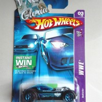 Hot Wheels Ballistik WWE Black Race Hotwheels HW Hitam Balap Keren