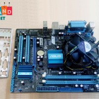Paket Motherboard Asus G41 DDR3 + Processor DualCore +Fan LGA 775 mobo