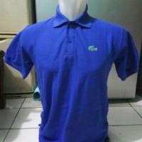 t shirt kerah polo lacoste kaos polo shirt kerah lacoste biru