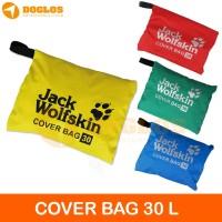 Rain Cover bag 30 Liter JWS Jack Wolfskin tas ransel Daypack laptop