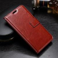 LG G4 G5 G6 Q6 Plus SE Dual Leather Retro Wallet Flipcase Dompet Cover