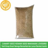 Biji Kenari Seed Canary Seed Makanan Lovebird Kemasan 1 Kg