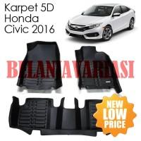 Karpet Mobil 5D Honda Civic 2016