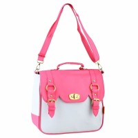 Tas Sling Selempang Handbag Wanita pink Golfer GF-1903 T12