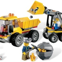 LEGO 4201 - LOADER AND DUMP TRUCK