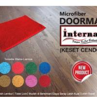 Keset / doormat anti slip - cendol warna doff