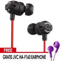 PROMO JVC HA-FX1X Original Earphone / IEM - Gratis JVC HA-F160