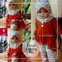 jual baju muslim anak grosir I gamis anak kekinian I baju bayi I Farah