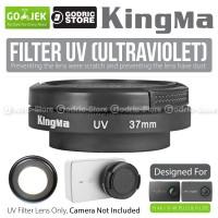 Kingma UV Filter Lens 37MM with Cap for Xiaomi Yi 4K Version 2