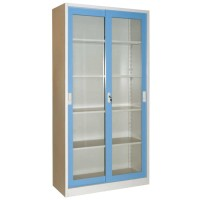Lemari File (File Cabinet) Krisbow Biru Sliding 180x90x39CM KW1700198
