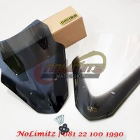 Windshield Visor Sectbill Vector Carbon Series Yamaha NMAX