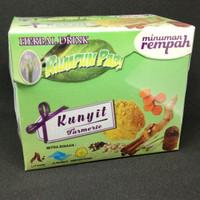 Harga minuman herbal kesehatan jamu tradisional kunyit | Pembandingharga.com