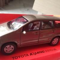 Miniatur Mobil Toyota Kijang Innova Brown Metalic - Welly Nex
