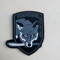 Patch rubber patch tactical velcro foxhound
