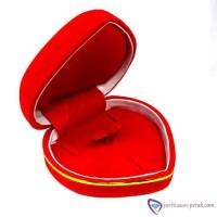 A24903 Kotak Set Perhiasan Sedang - Kotak Cincin Love