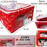 Hello Kitty Lock & Lock Living Box (Love Red) 032438