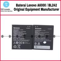Baterai Lenovo A6000 BL242 Original - Battery Batre BL 242