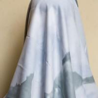 Kerudung Jilbab Hijab Segi Empat Maxmara Motif Ombre Grey