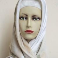 Jilbab Kerudung Hijab Segi Empat Maxmara Motif Ombre Green