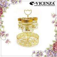 Vicenza Candy Jar - Toples Permen dgn Wadah Air GA3 Padi