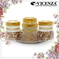 Vicenza Candy Jar Toples Permen GB5 Padi