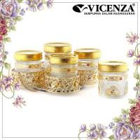 Vicenza Candy Jar Toples Permen GB5 Camelia