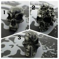 METAL Skull Beads 4 Mm Inner