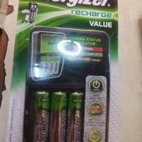 Charger - Energizer - Recharge Value (4slots, bonus 4x1300mAh battery)