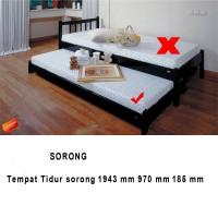 BED TEMPAT TIDUR RANJANG  SORONG LIGNA