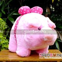 Boneka Piggy Babi Pita Besar ( HK - 509550 )