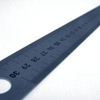 Penggaris Besi / Stainless Steel 30 cm murah abis