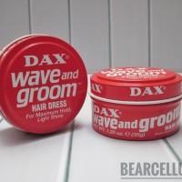 DAX WAVE AND GROOM HAIR DRESS POMADE MINI 1.25OZ FREE SISIR