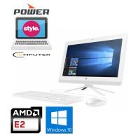 HP PC All In One 20-C321D - AMD E2 9000- 4GB- 500GB- WIN10- 19.5FHD