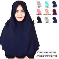 Zahra Khimar Pita Hijab instan Jilbab Kerudung Khimar Hijab Murah