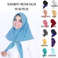 Jilbab Instan Segiempat  Segitiga Salsa Jilbab Murah  Grosir Hijab