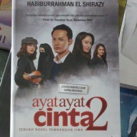 ORIGINAL NOVEL AYAT AYAT CINTA 2 HABIBURRAHMAN EL SHI BUKU NOVEL