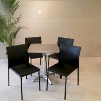 Meja dan kursi satu set cafe murah pc 20
