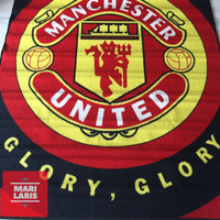 Jual Karpet Bola Club Manchester United Ukuran 100 X 150 Cm Kota Medan Mari Laris Tokopedia