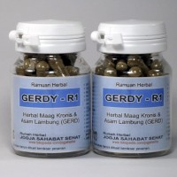 GERDY R1 Kapsul Herbal Obat Maag Kronis Asam Lambung GERD