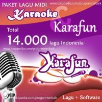 Software Program Karaoke Midi karafun & lagu karaoke INDO full lirik