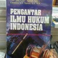 Jual BUKU PROMO MURAH Pengantar Ilmu Hukum Indonesia by kansil Murah