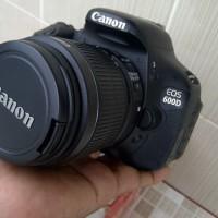 CANON EOS 600d + LENSA KIT 18-55mm is II