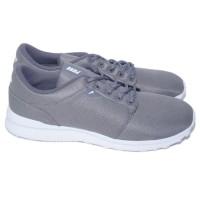 Sepatu Piero Casual Rush - Cool Grey White