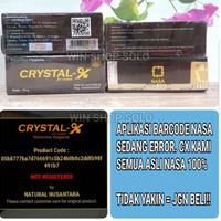 CRYSTAL X / CRYSTAL-X / CRYSTALX NASA ORIGINAL 1000% GARANSI UANG KEMBALI 10X LIPAT