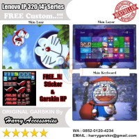 Garskin Laptop Full Body Lenovo Ideapad 320 14'' Series Motif Doraemon