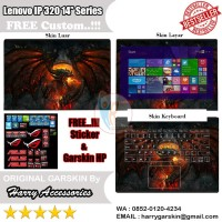 Garskin Laptop Full Body Lenovo Ideapad 320 14'' Series Motif Warcraft