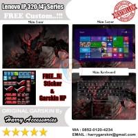 Garskin Laptop Full Body Lenovo Ideapad 320 14'' Series Motif Dota 2