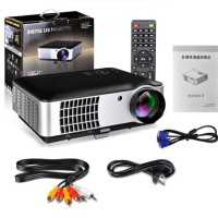 Mini projector proyektor projektor LED Rd 802 with tv tuner cinema